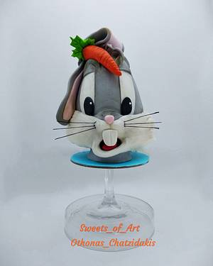 Bugs bunny Easter egg!!! - Cake by Othonas Chatzidakis