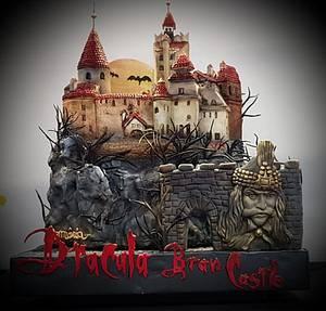 Dracula -Bran Castle Romania - Cake by Ionela Velniceriu