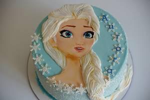 Elsa - Cake by Magda's cakes