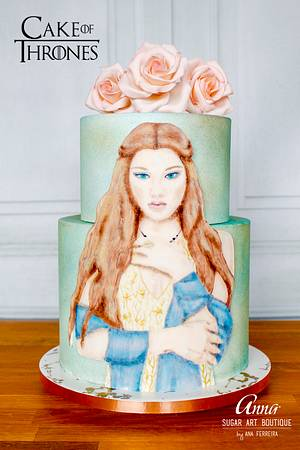 Margaery Tyrell - Cake of Thrones Collaboration 2019 - Cake by Anna Sugar Art Boutique