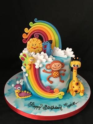 BabyTV cake - Cake by Nightwitch