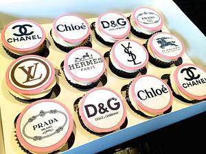 Designer cupcakes - Cake by The Billericay Cake Company