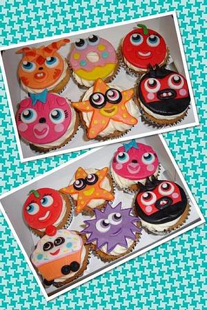 Moshi Monster Cupcakes - Cake by Hayley