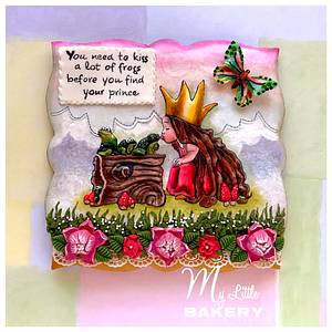 """Cookie gift card - Cake by Nadia """"My Little Bakery"""""""