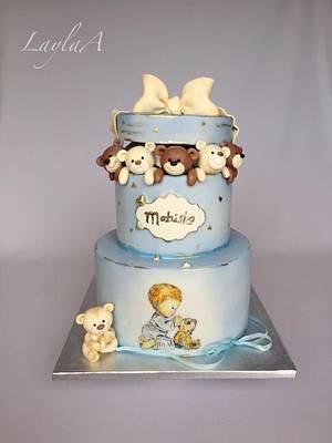 Teddy bear cake  - Cake by Layla A