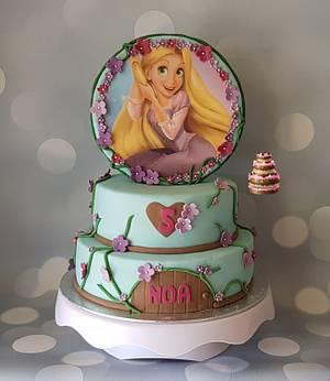 Rapunzel - Cake by Pluympjescake