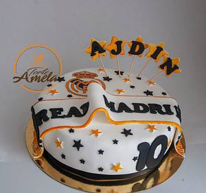 real madrid cake - Cake by Torte Amela