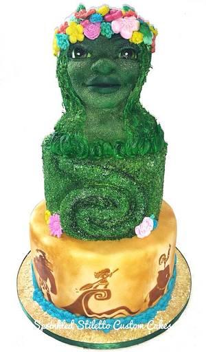 Tefiti Moana cake  - Cake by Tisha Frank