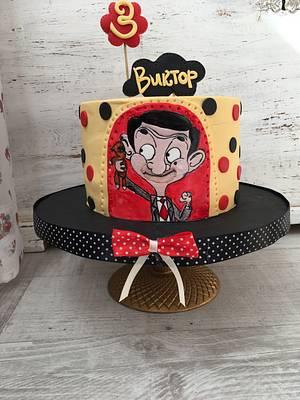 Mr Bean cake - Cake by Martina Encheva