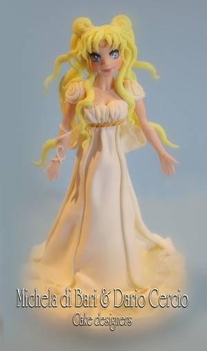 Princess Serenity ♥ Sailor Moon - Cake by Michela di Bari