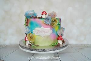 Magical Woodlands  - Cake by Amy'z Cakez & Sweetz