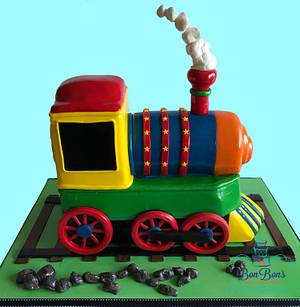 Choo Choo Train - Cake by Bonnie Carmine