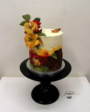 Autumn - Cake by Stániny dorty