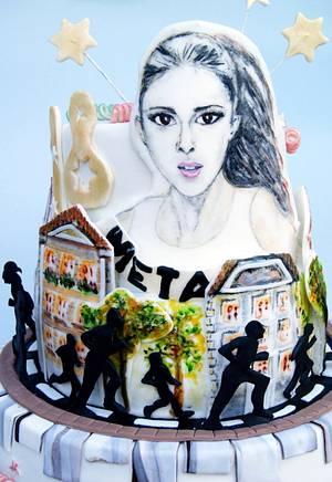 Cake for a runner - Cake by Katarzynka