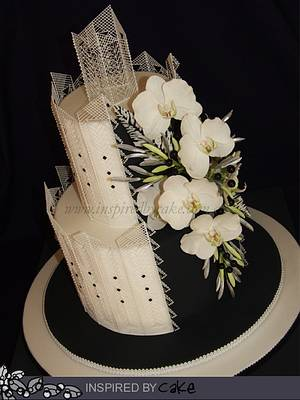 Black and White Cake - Cake by Inspired by Cake - Vanessa