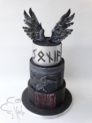 Vikings - Cake by Diana