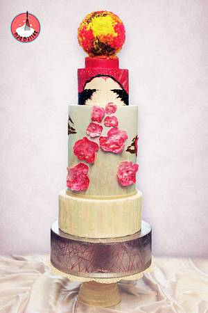 The Summer Love!  - Cake by Mad Batter by Aashna