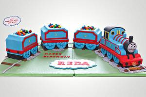 Thomas the Train - Cake by The Sweetery - by Diana
