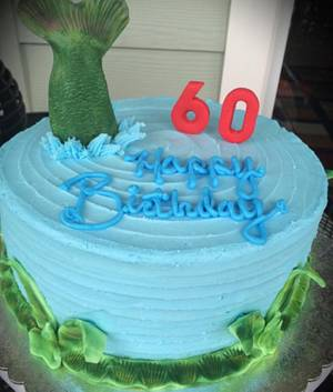 Fishing Theme Cake - Cake by Cakes By Rian