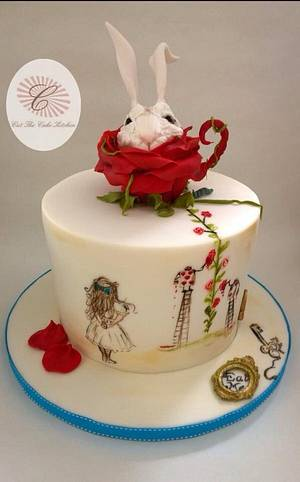 Remembering Alice - Cake by Emma Lake - Cut The Cake Kitchen