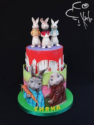 Peter Rabbit - Cake by Diana