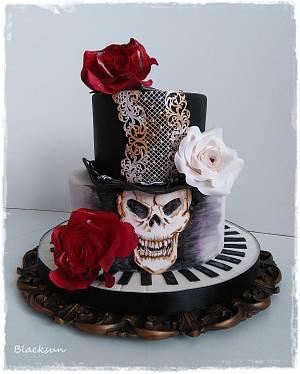 Rock birthday party2 - Cake by Zuzana Kmecova