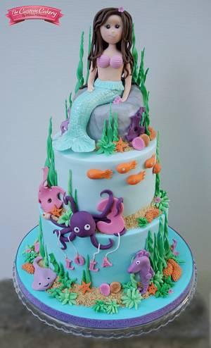 Lola's Mermaid - Cake by The Custom Cakery