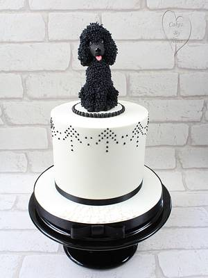 poodle cake  - Cake by Nina