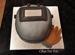 Welders Hood - Cake by Cakes For Fun