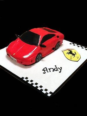 Ferrari - Cake by Aoibheann Sims