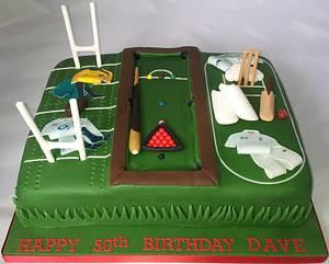 Multi-sports - Cake by Jan
