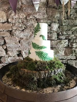 Fern wedding - Cake by CCC194