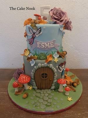 Fairy Door Cake. - Cake by Zoe White