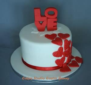 Small wedding cake - Cake by Irina Vakhromkina