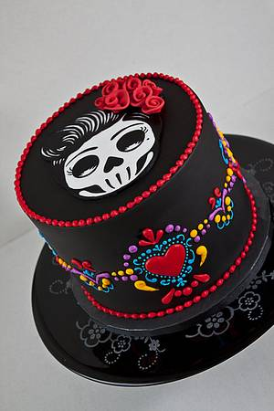 Dia de los Muertos Cake - Cake by tortacouture