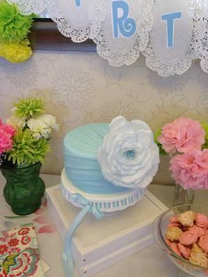 Cinderella Blue - Cake by Donna