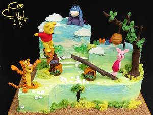 Winnie the Pooh & Pals - Cake by Diana