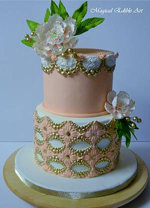 Brooch cake - Cake by Zohreh