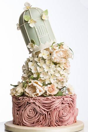 Mad Hatter  - Cake by Caramel Doha
