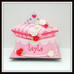 Princess Pillow Cake - Cake by Marjorie
