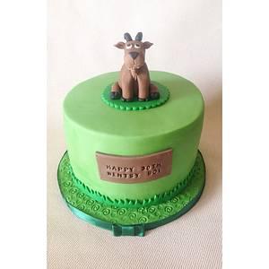 Goat Birthday Cake - Cake by Beth Evans