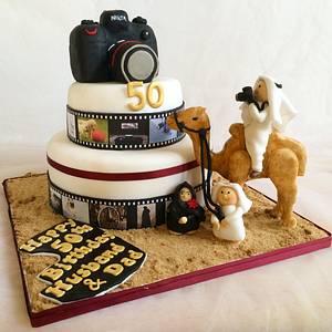 Camera Cake - Cake by Yusy Sriwindawati