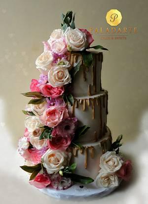 Wedding Cake - Cake by Paladarte El Salvador