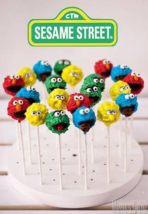 Sesame Street Cake Pops - Cake by AysemOztas