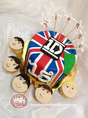 Do you know any 15 year old girl who doesn't love 1D??? - Cake by TheCake by Mildred