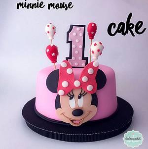 Torta Minnie Cake - Cake by Dulcepastel.com