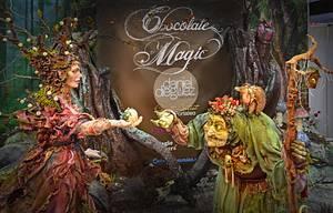 Chocolate Magic with Karen Portaleo at Cake International - Cake by Daniel Diéguez
