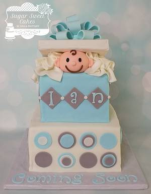 Pop Out Baby - Cake by Sugar Sweet Cakes