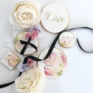 Wedding Favour Cookies - Cake by Tammy Iacomella