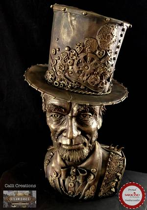 Steam Punk Collaboration 2018 - Cake by Calli Creations